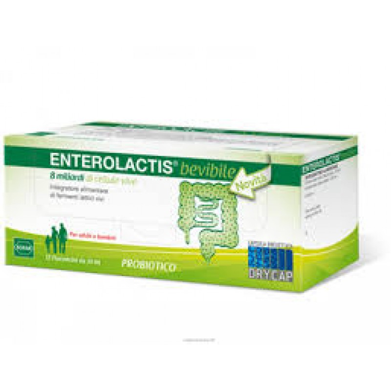 ENTEROLACTIS 12FLC 10ML