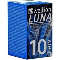 WELLION LUNA CHOL.STRIP10P