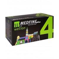 WELLION MEDF.PL. 4MM 100PZ