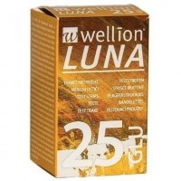 WELLION LUNA 25 STRIPS